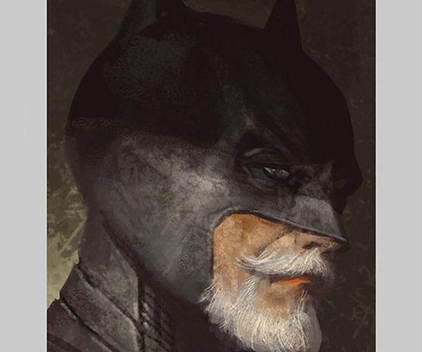 DC Comics Heroes as Senior Citizens