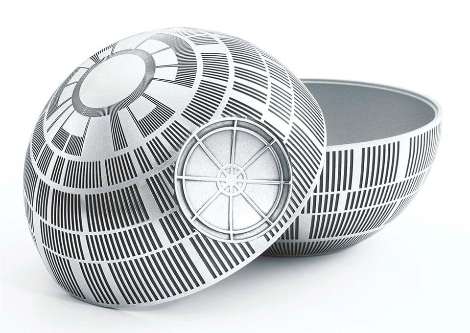 Death Star Pewter Trinket Box