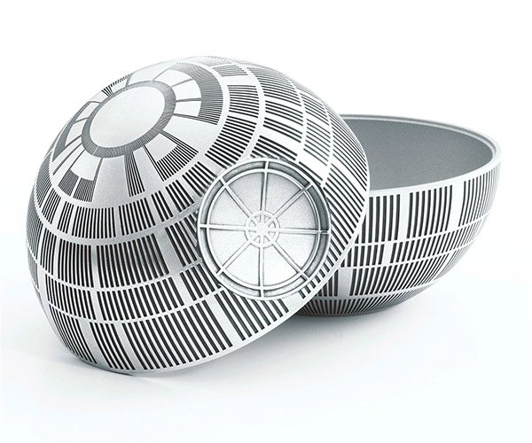 Death Star Pewter Trinket Box