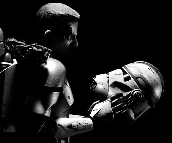 Star Wars Action Figure Photography Weaves Tales from the War Zone