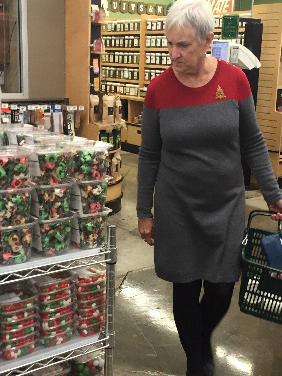 Grandma Accidentally Cosplays a Starfleet Officer