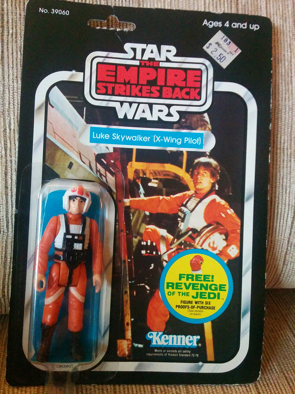 Kenner Star Wars Toys : Star wars kenner action figure gift given three decades