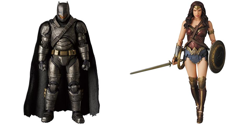 Medicom MAFEX BvS Armored Batman & Wonder Woman