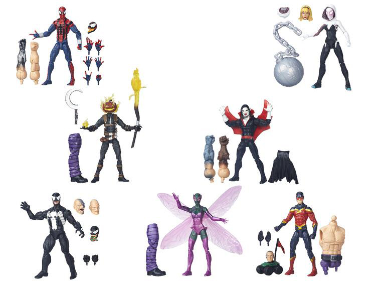 Marvel Spider-Man Legends Wave 3 Includes Spider-Gwen