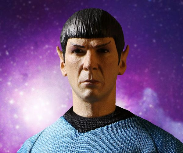 Star Trek Spock 1:12 Collective Action Figure