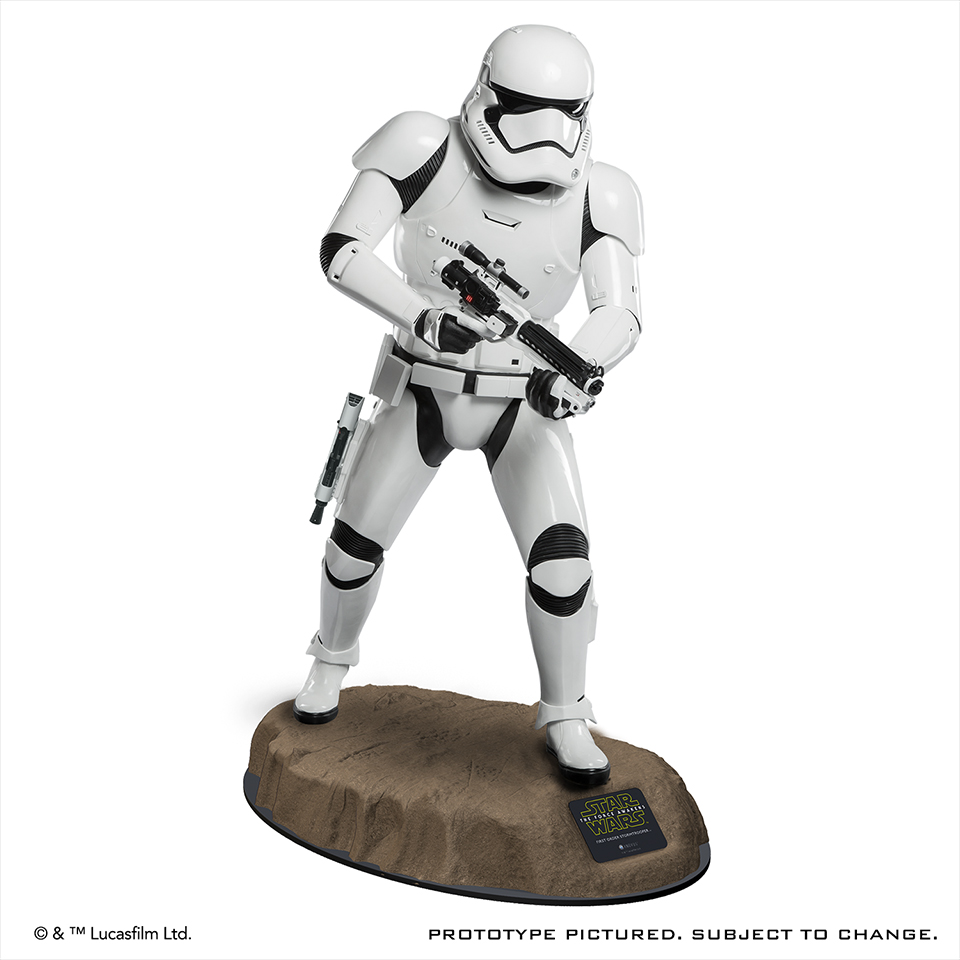 Anovos First Order Stormtrooper Life-size Statue