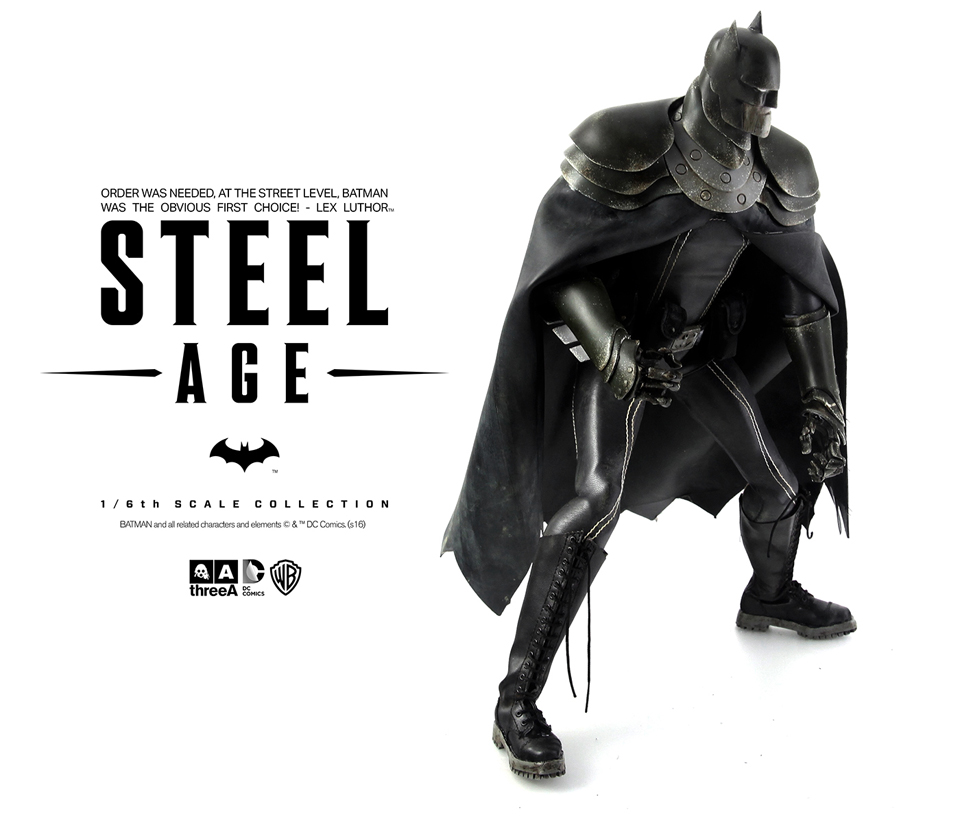 3A Toys Steel Age Batman Sixth Scale Action Figure