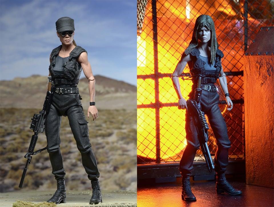 NECA Terminator 2 Ultimate Sarah Connor Action Figure