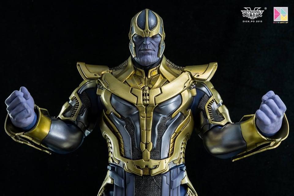 Hot Toys Thanos Gotg Sixth Scale Figure Mightymega