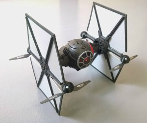 Hasbro First Order TIE Fighter Converted Into a Flying Drone