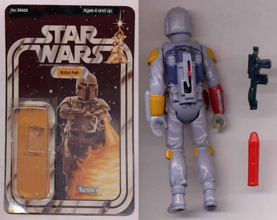1979 Kenner Rocket Firing Boba Fett Prototype on eBay