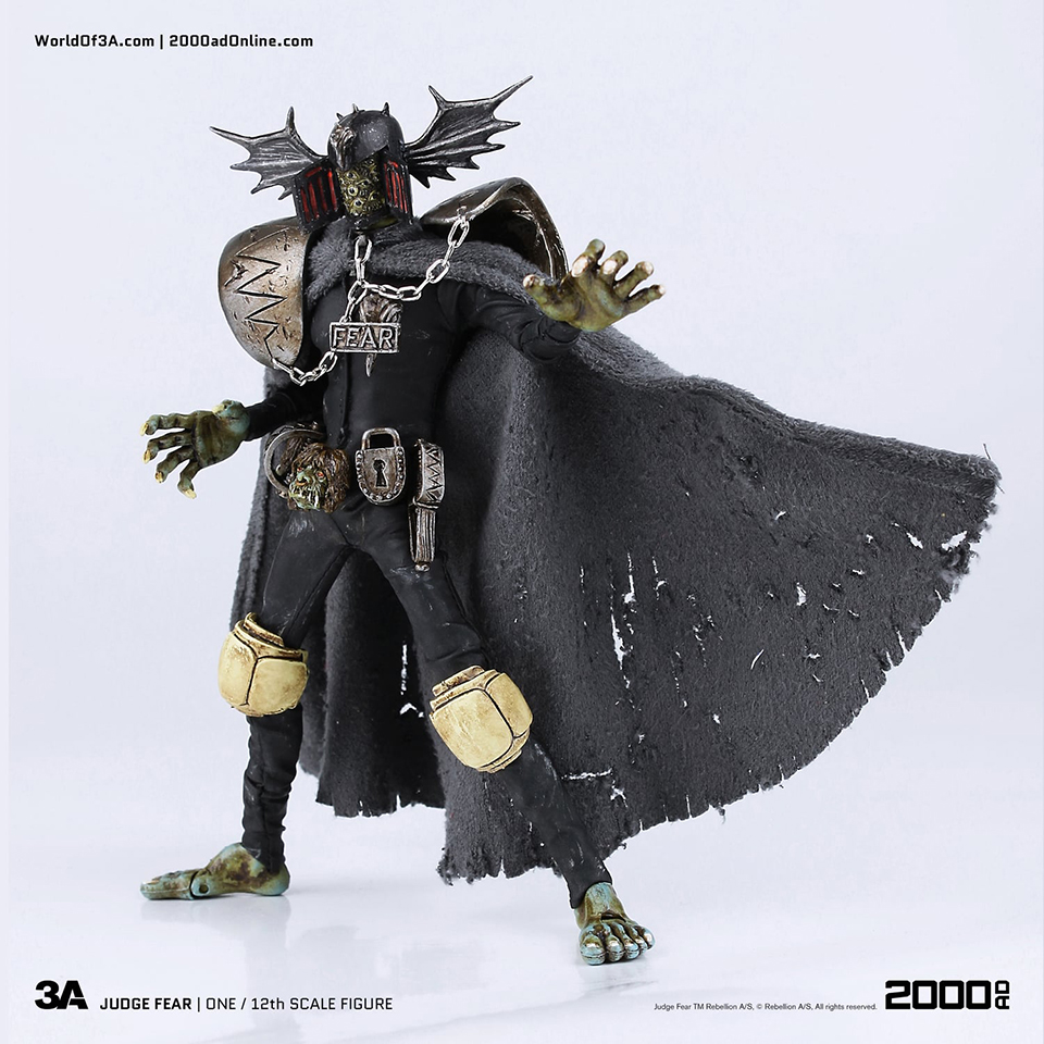3A Toys 2000 AD Judge Fear 12th Scale Figure