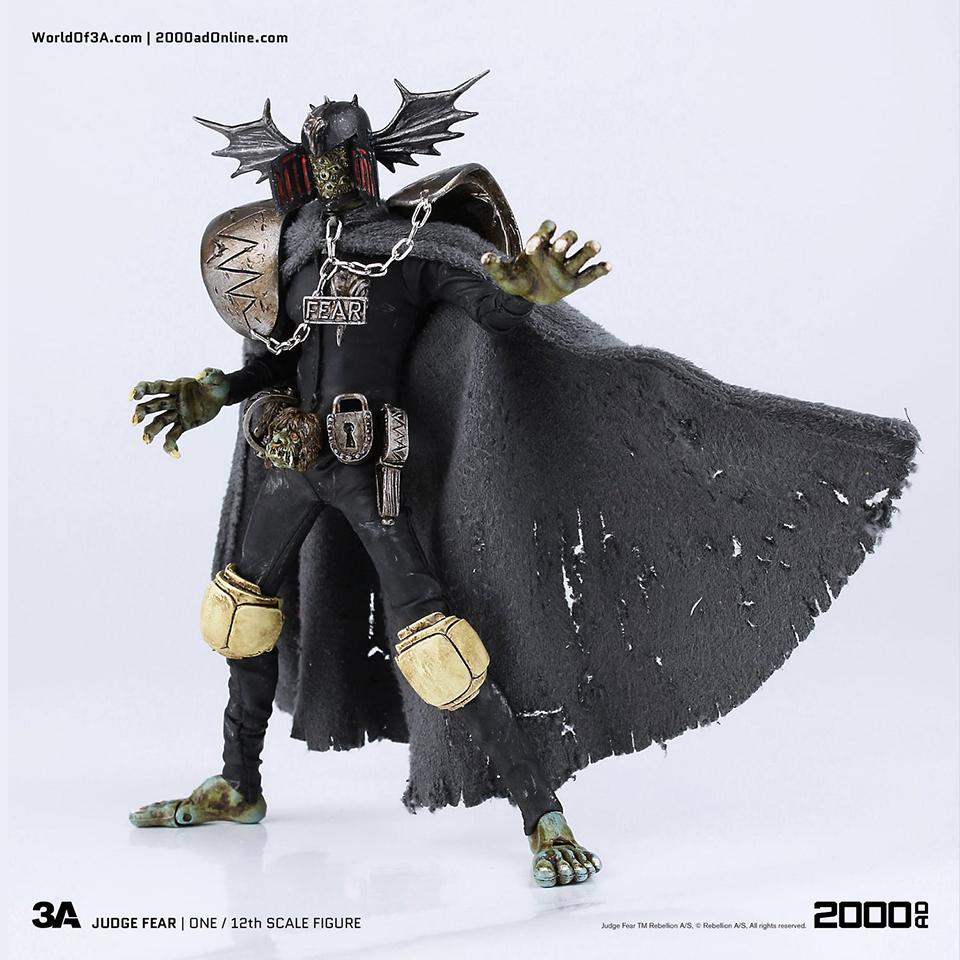 3A Toys 2000 AD Judge Fear 12th Scale Figure