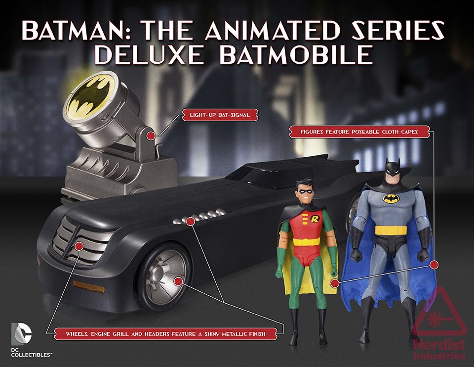 DC Collectibles Batman: The Animated Series Deluxe Batmobile