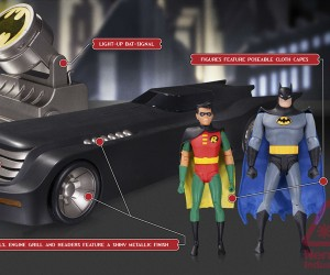 DC Collectibles Batman: The Animated Series Deluxe Batmobile