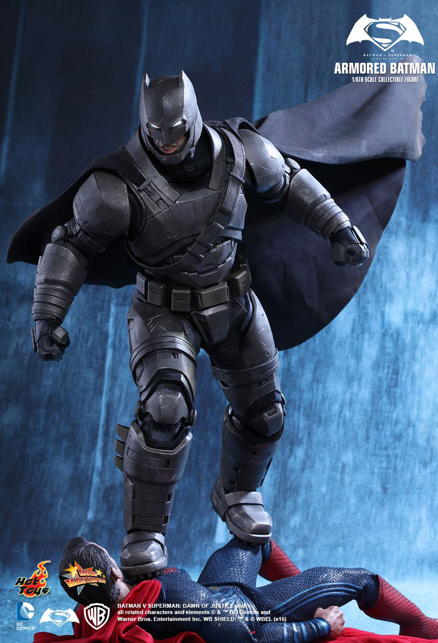 Hot Toys BvS Armored Batman Sixth Scale Action Figure