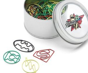 Justice League Paper Clips