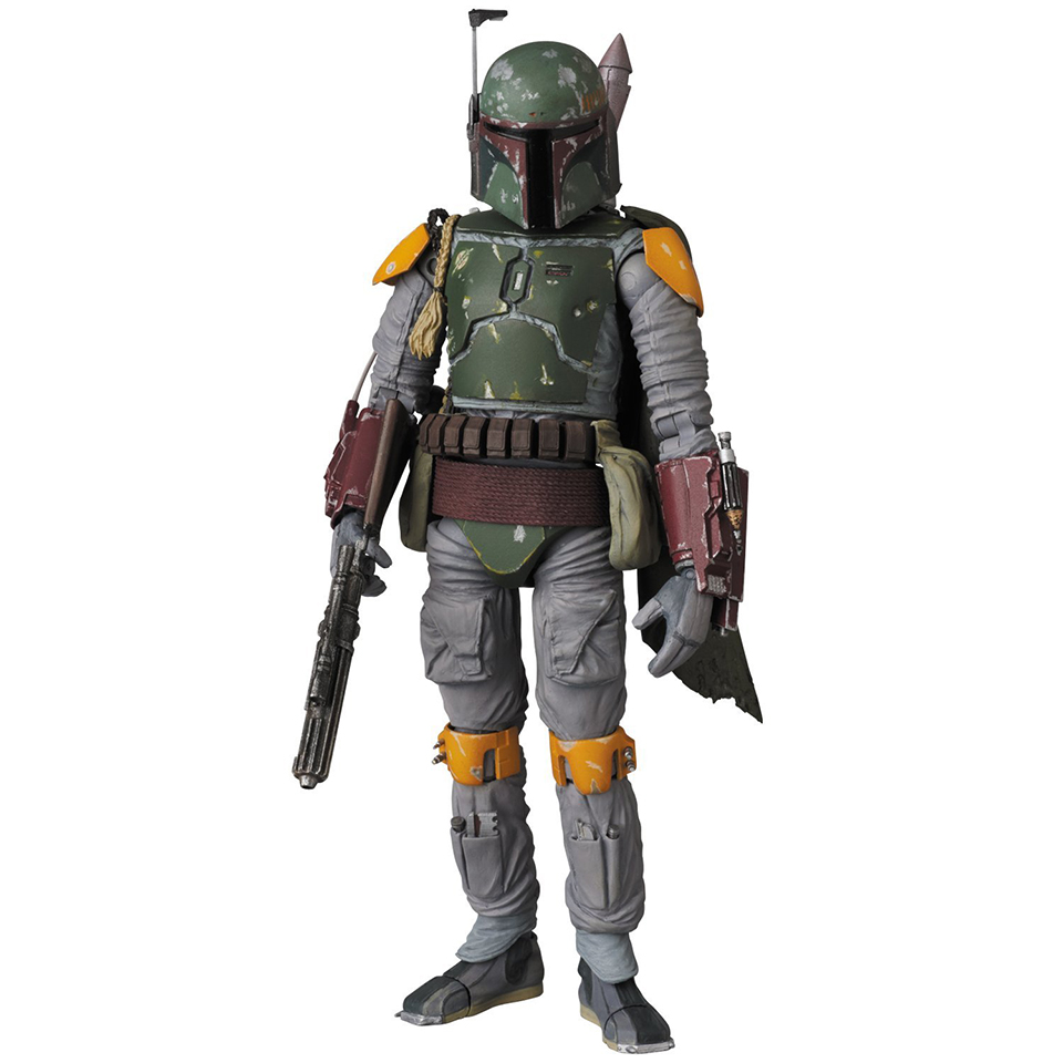 medicom mafex boba fett rotj action figure mightymega. Black Bedroom Furniture Sets. Home Design Ideas