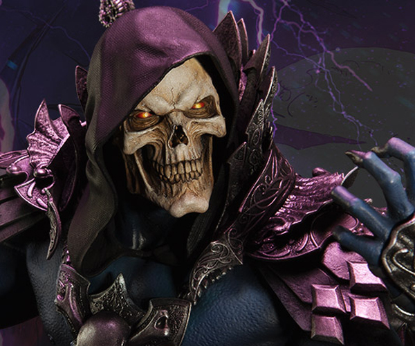 Sideshow x Masters of the Universe Skeletor Statue