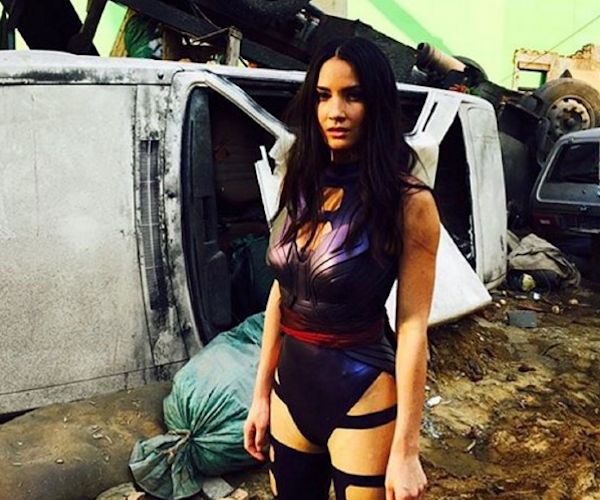 First Photo of Olivia Munn As Psylocke in X-Men: Apocalypse