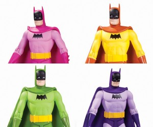 DC Collectibles Batman Rainbow Action Figure Six Pack