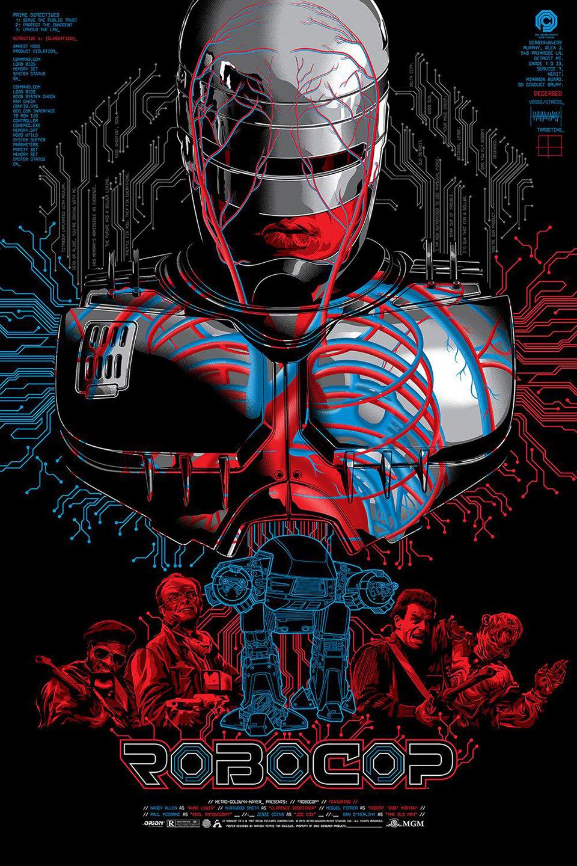 Anthony Petrie x Skuzzles RoboCop Print