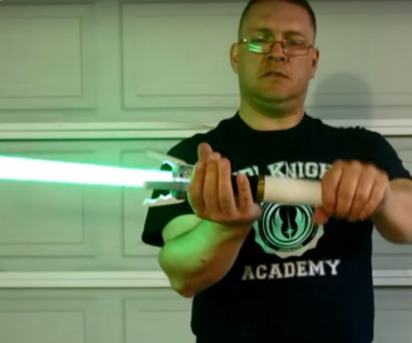 Fan Makes Sonic Screwdriver Lightsaber Combo