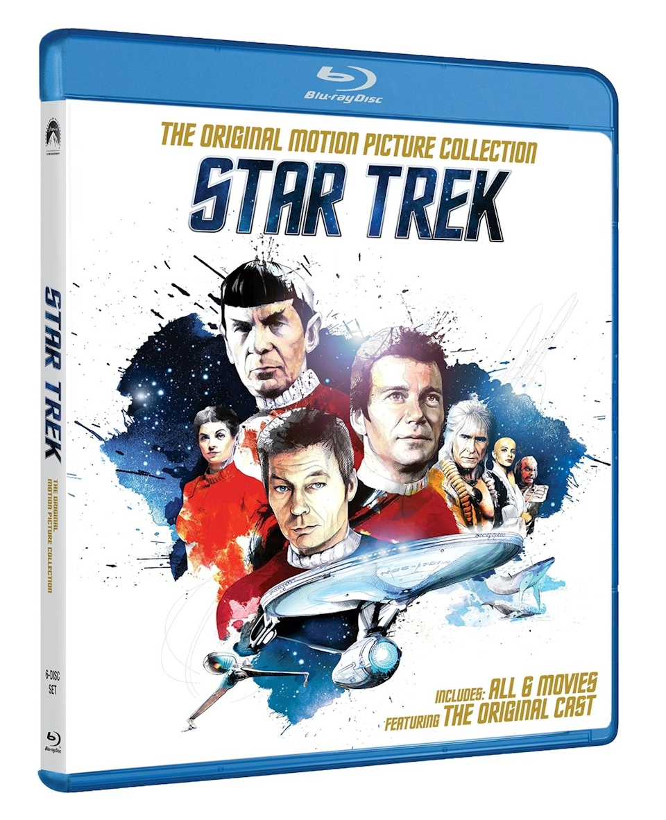 Star Trek Movies Reissued on Blu-ray And DVD