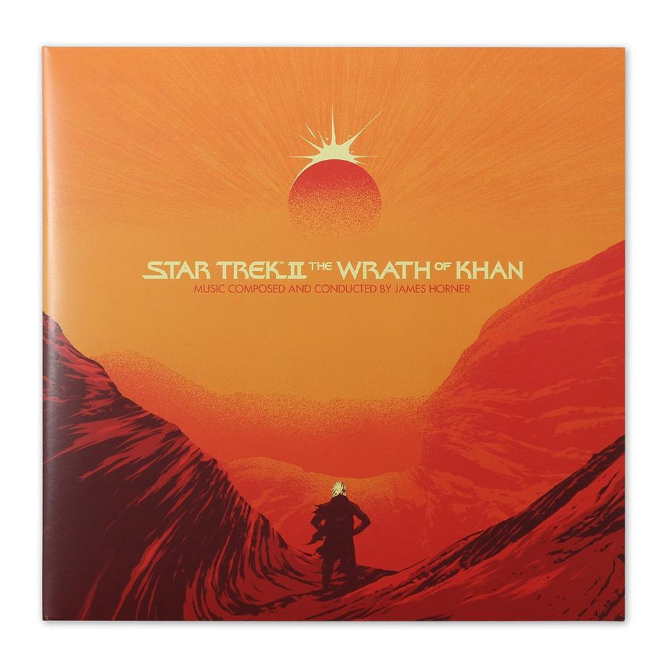 Mondo Star Trek: The Wrath of Khan on Vinyl