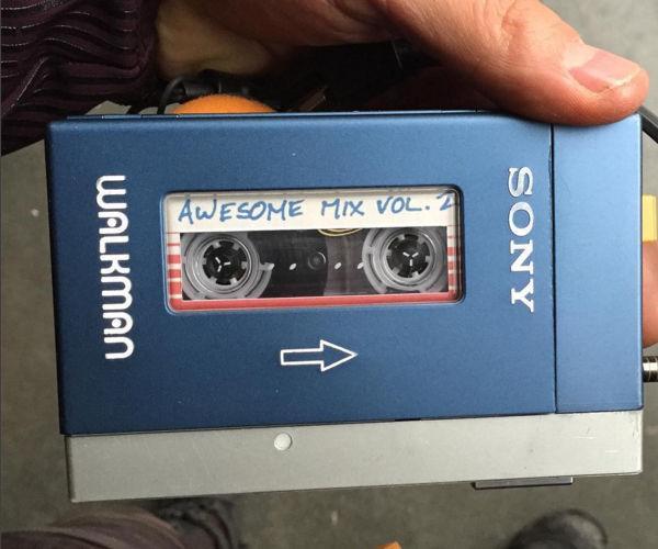Chris Pratt Teases Awesome Mix Vol. 2