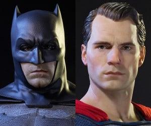 Prime 1 BvS Batman & Superman Half-Scale Statues