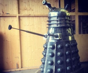 Dalek Wood Burner Exterminates the Cold