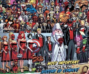 Deadpool Breaks Record for Most Characters on a Comic Book Cover
