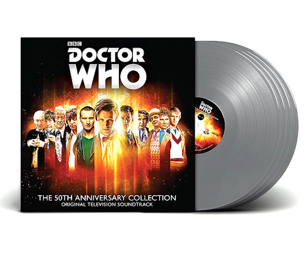 Doctor Who: 50 Years in the TARDIS Vinyl Box Set