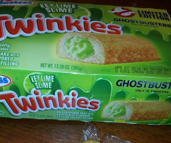 Ghostbusters Key Lime Slime Twinkies Hitting Stores