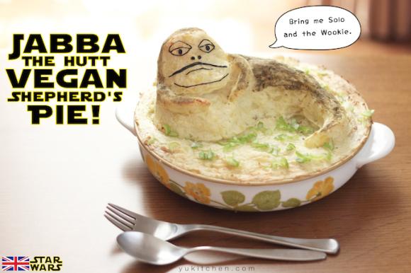Jabba the Hutt Shepherd's Pie