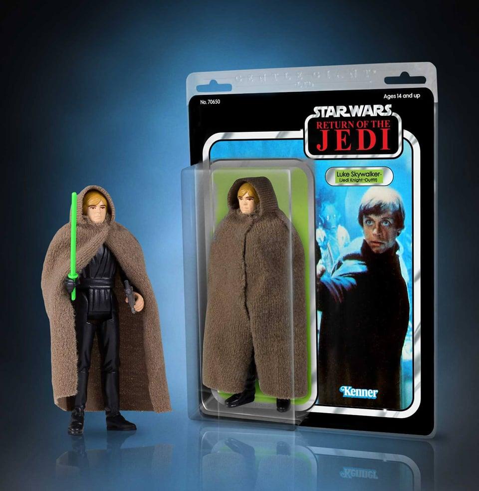 Gentle Giant Jumbo ROTJ Luke Skywalker & Secret Wars Iron Man