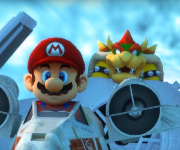 Star Kart: Mario Kart and Star Wars Mashup