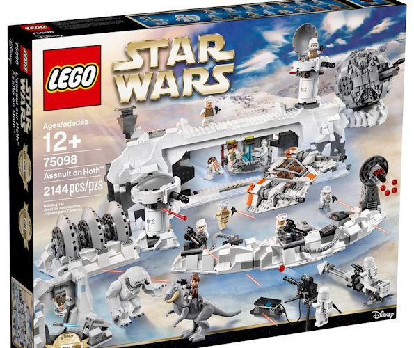 LEGO Star Wars Hoth Echo Base Playset