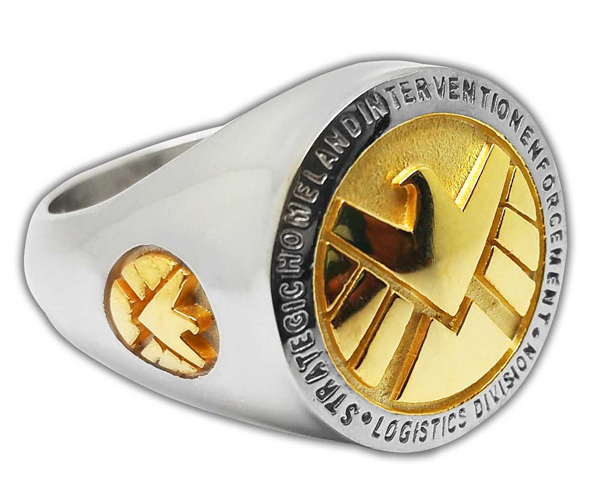 Marvel's Agents of SHIELD/HYDRA Rings