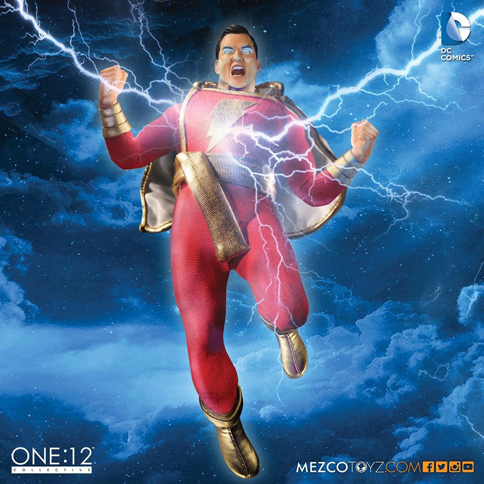 Mezco One:12 Collective Shazam Action Figure
