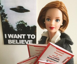 Scully Style Chronicles the Life of Dana Scully Barbie