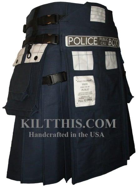 Doctor Who TARDIS Kilt