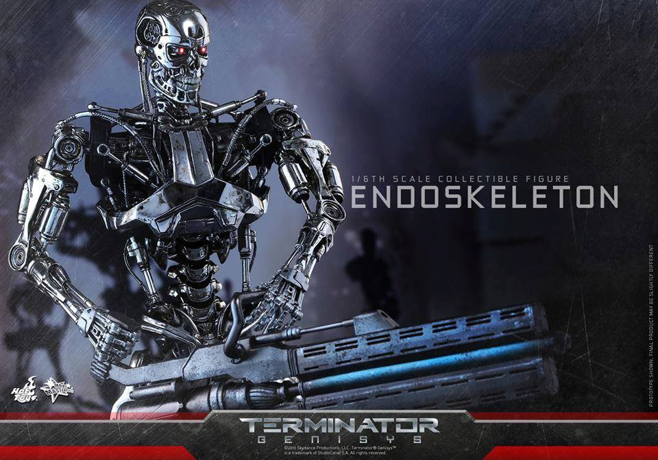 Hot Toys Terminator: Genisys 1/6th Scale Endoskeleton Figure