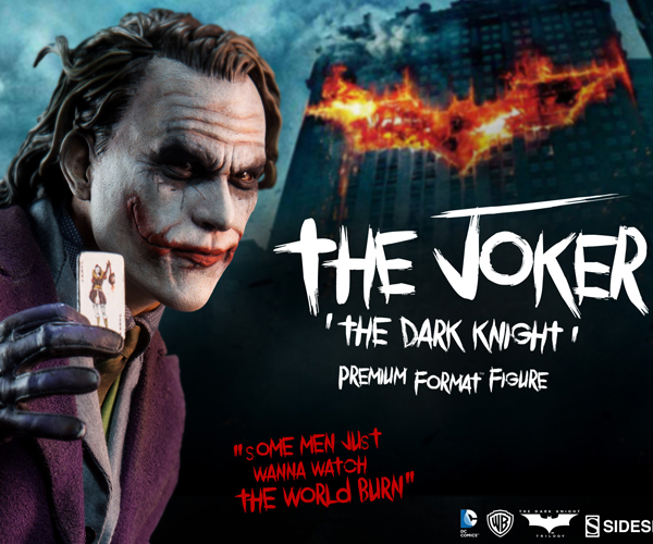 Sideshow The Dark Knight The Joker Premium Format Figure