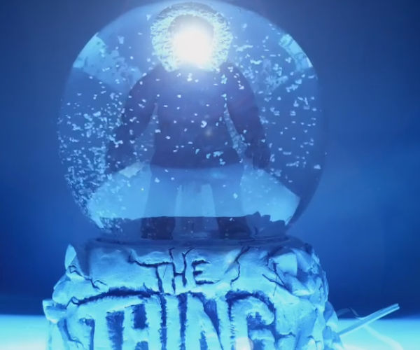 The Thing in Snowglobe Form