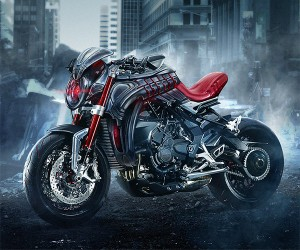 Avengers Age of Ultron Motorcycle Has No Strings