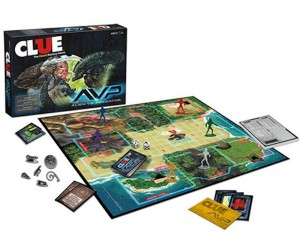 Alien vs. Predator Clue Game