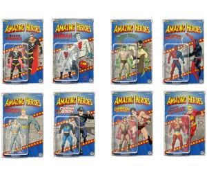 Fresh Monkey Fiction Amazing Heroes Wave 1 Action Figures