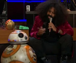 BB-8 and Reggie Watts Jam